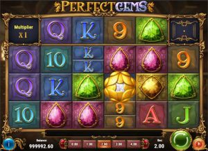 perfect gems slot features